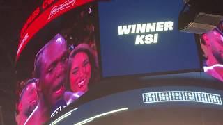 Logan Paul lost the rematch! KSI WON! KSI WINNING SPEECH
