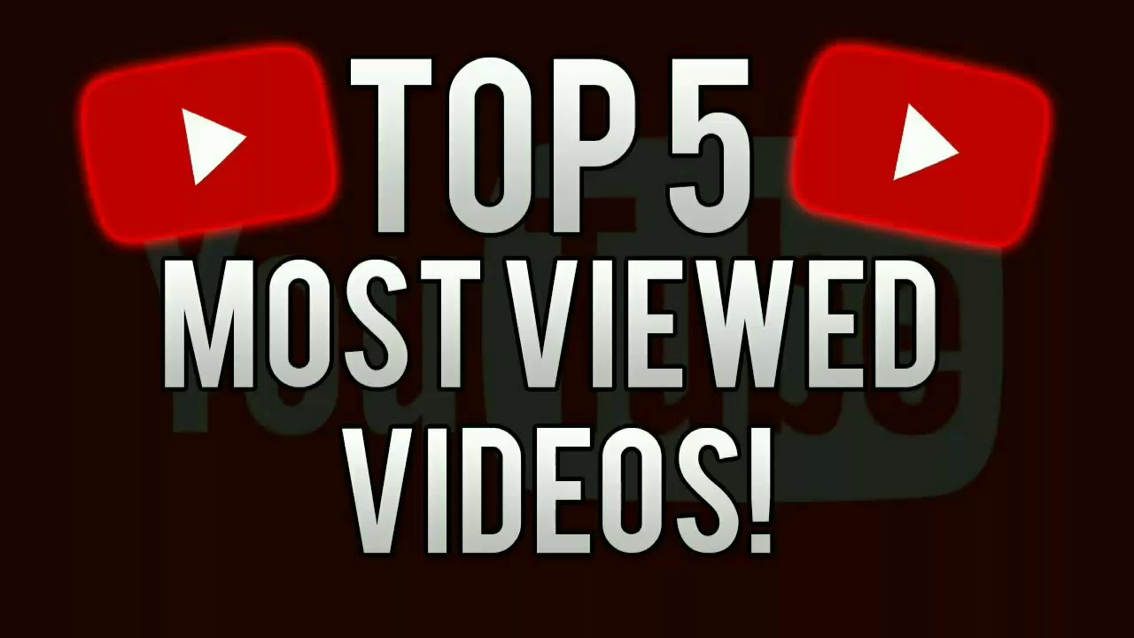 Most Viewed Video On Youtube Top 5 2017 Youtube