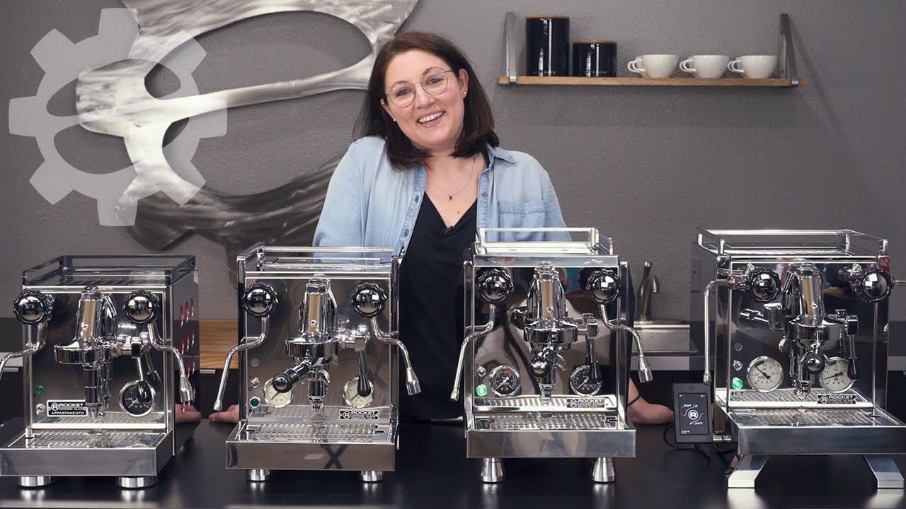 Rocket Espresso Machine Line Overview