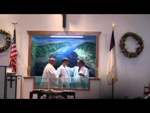 Sunday, June 8, 2014 – Baptism