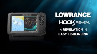 A Revelation in Easy Fish Finding - Introducing Lowrance HOOK Reveal