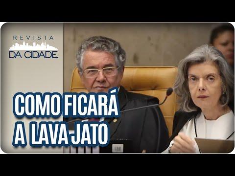 Como ficarão os processos da Lava Jato? - Revista da Cidade (24/01/17)