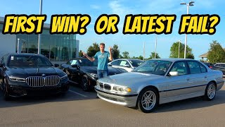 Was Spending $15,000 On An Old BMW 7-Series A Mistake? E38 My Lunch!