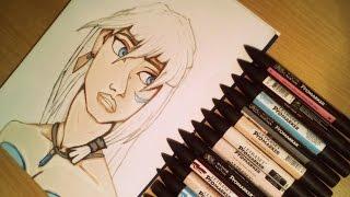 Speed Drawing: Princess