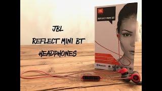 JBL Reflect Mini BT Headphones / Unboxing + Review
