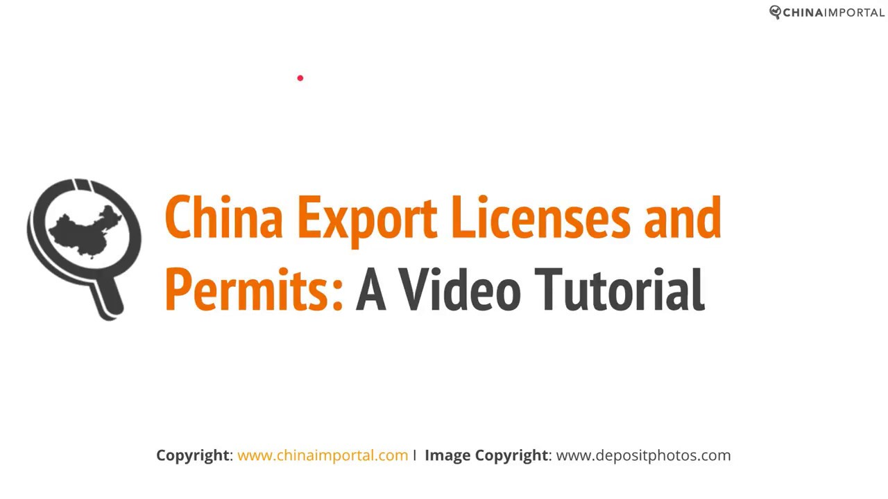 Export License - How to start exporting to china [2019