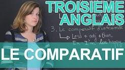 Le comparatif - Anglais - 3e - Les Bons Profs
