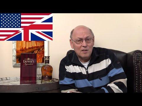 Whisky Tasting: Dewar's Signature