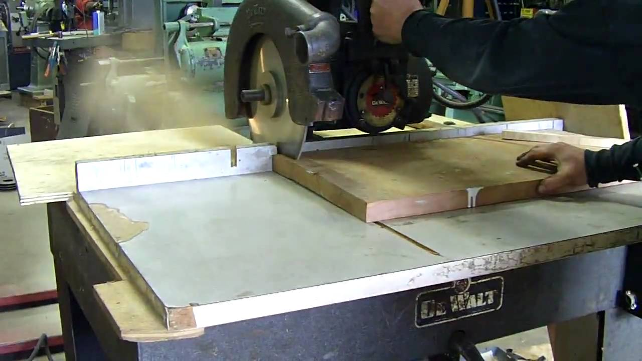 ... GE radial arm saw at Pleasant St Machinery for woodworking - YouTube