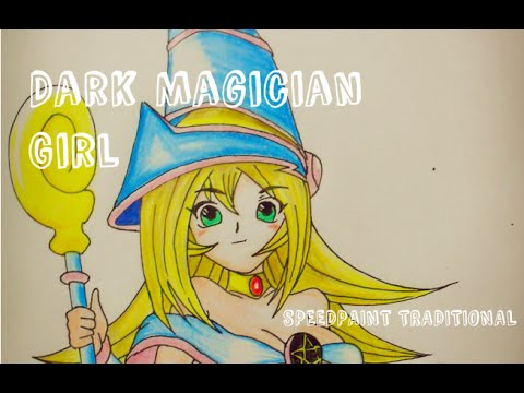 dark magician girl coloring pages - photo#37