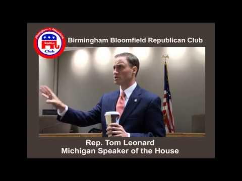 Speaker of the House Tom Leonard Part 2