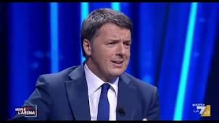 Renzi Cita Alberto Bagnai e Parte La Pubblicità 18/02/2018