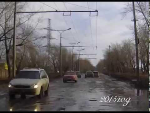 Каменск Уральский  Дорога на Чкаловский 1995 2015,Инволюция