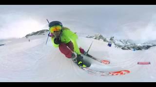 Chemmy Alcott Giant Slalom, 360 Video - LSH & CoStar.