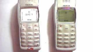 Demostração do Nokia 1100