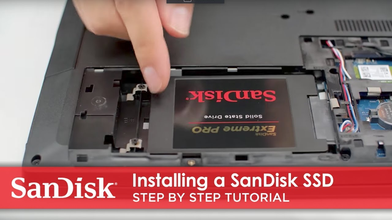 How to Install a SanDisk® SSD in Your Laptop | Step by Step Tutorial