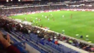 Supporters Mallorca Zaragoza Silenciando la Romareda