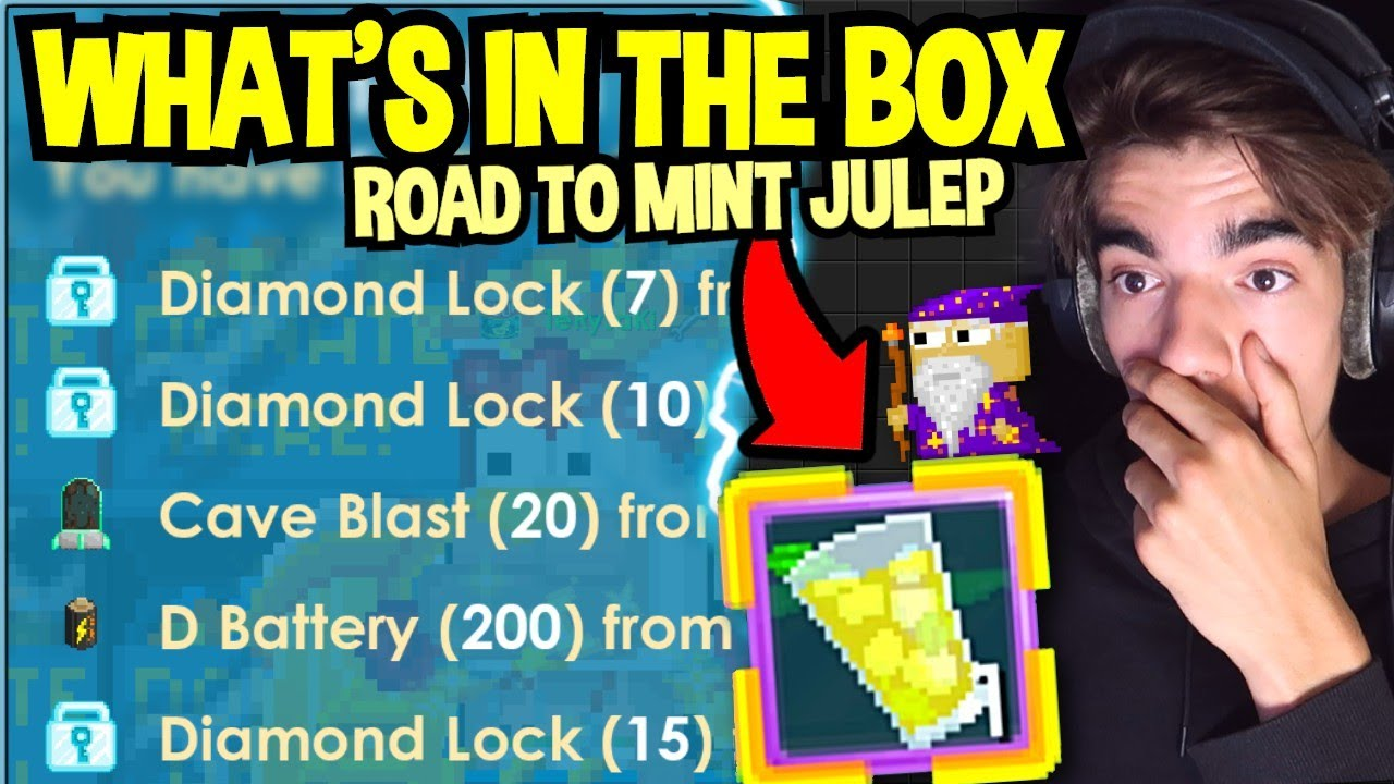 WHAT'S IN THE BOX - ROAD TO MINT JULEP   Growtopia