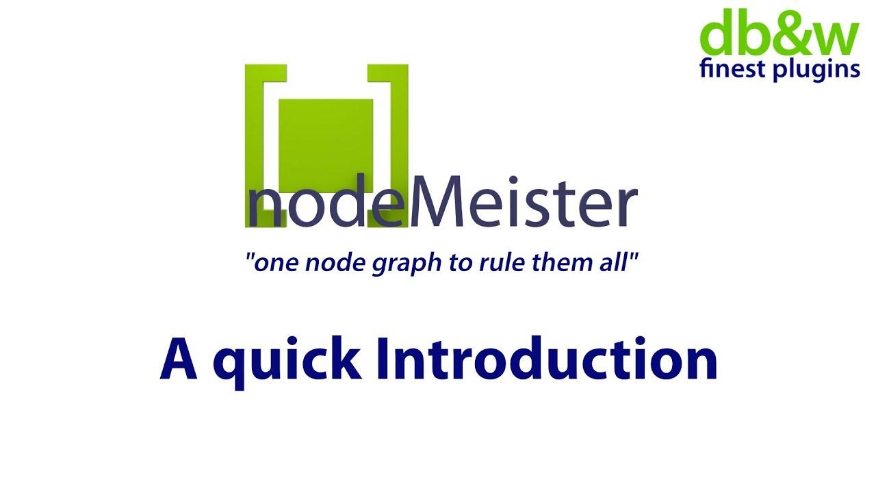 nodeMeister - db&w