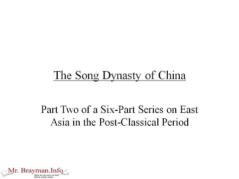 The Song Dynasty of China