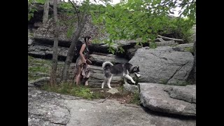 3 Day Bushcraft Trip New York, Channel Upgrade, Hiking, Camping, Running Black Wolf