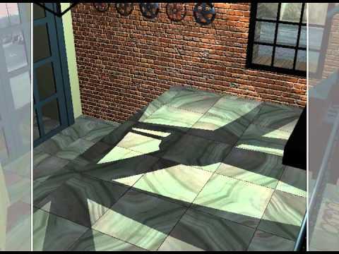 CGI Interior Design Rendering