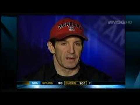 Brendan Shanahan Interview Hockey Night NY Live Mar 15 2007
