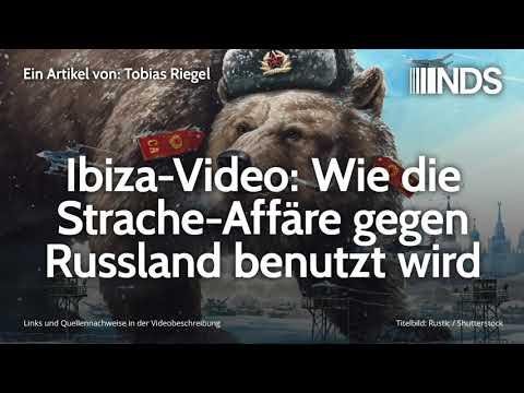 Ibiza-Video: Wie die Strache-Affäre gegen Russland benutzt wird | Tobias Riegel