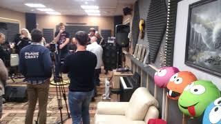 Мастер, Дмитрий Губерниев  и Михаил Губерниев - Рабочие моменты съёмки для телеканала  НТВ