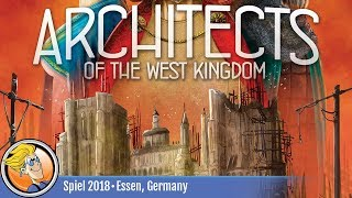 Architects of the West Kingdom — game overview at SPIEL '18