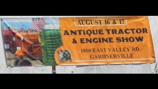 Antique Tractor and Engine Show in Gardnerville-Nevada