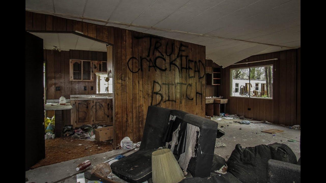 Abandoned Shady Acres Trailer Park Flint MI  YouTube