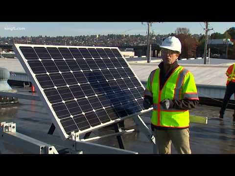 Port of Seattle starts solar pilot project