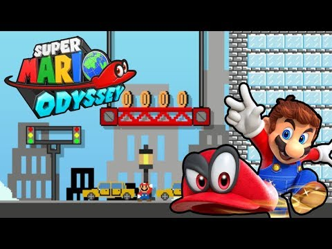 4 Super Mario Odyssey Level Mods for Super Mario Maker No Spoilers