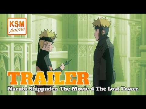 Naruto Shippuden The Movie 4: The Lost Tower - Deutscher Trailer