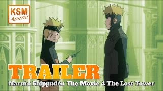 Naruto Shippuden The Movie 4: The Lost Tower - Deutscher Trailer