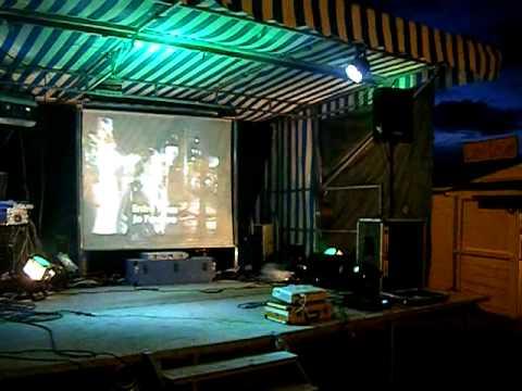 karaoke podium   avec Még@mix Animation