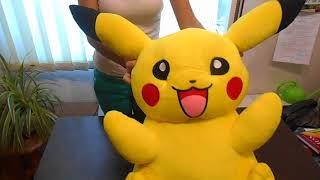 Покемон Пикачу ( Pikachu), плюшевая игрушка пикачу 75 см обзор, купить игрушку пикачу в Украине,