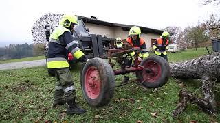 Traktorunfall in Schlins