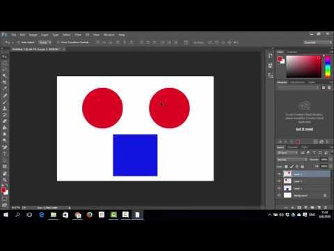 เซียน Photoshop cc บทที่ 8 การรวมเลเยอร์