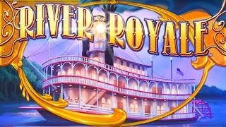 River Royale Slot - LIVE PLAY Bonus Trigger - NICE!