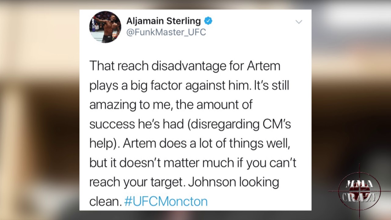 MMA Pros React to Michael Johnson defeating Artem Lobov at UFC Fight Night Moncton