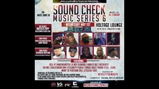 RAZOR - OBH RECAP PHILLY.HIPHOP PRESENTS SOUND CHECK MUSIC SERIES 6