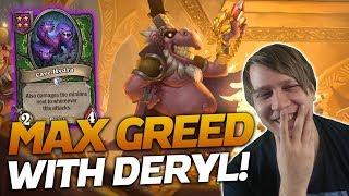MAXIMUM GREEDING with DEMONS! | Hearthstone Battlegrounds | Savjz