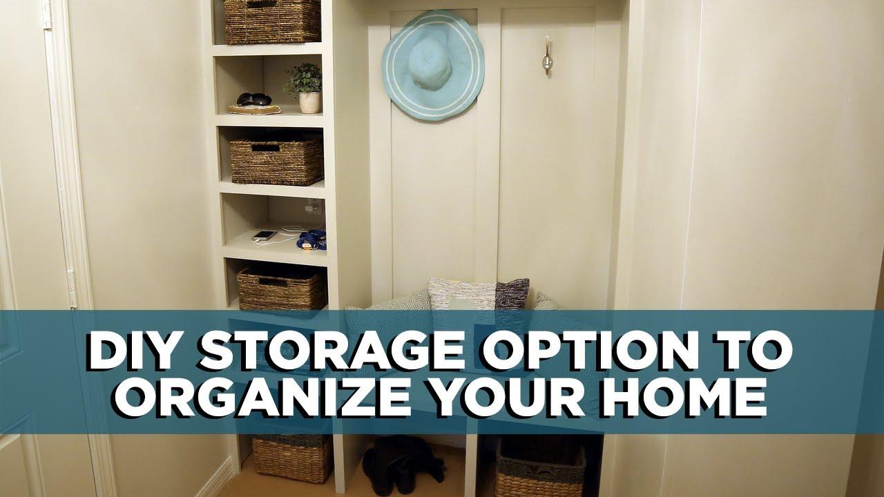 How To Build A Diy Drop Zone Storage Bench
