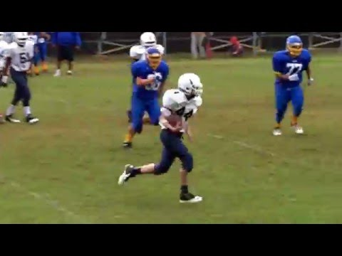 Daniels Middle School vs North Garner Middle School Football 2013