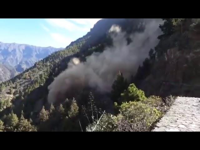 Desprendimientos en La Caldera de Taburiente II  (El Paso)