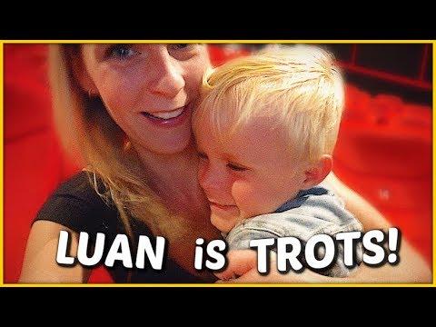 HiER HEEFT LUAN ZO LANG OP GEWACHT ... 🙃( ugly dolls)    Bellinga Familie Vloggers #1448