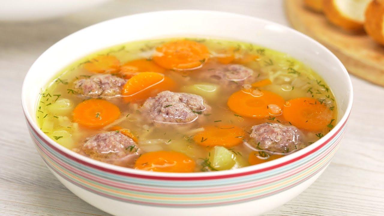 Захотелось суп, а времени совсем нет! Простой суп с фрикадельками полюбят даже дети. Всегда Вкусно!