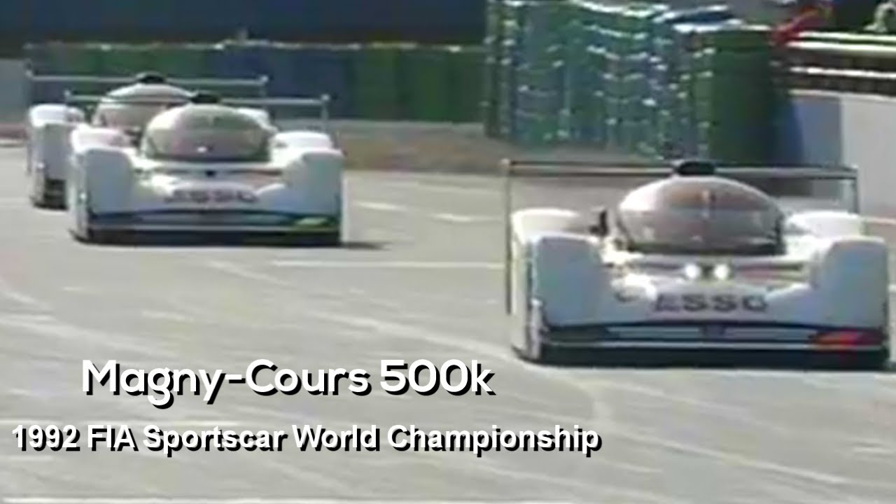 1992 World Sportscar Championship   France | Magny Cours 500Km